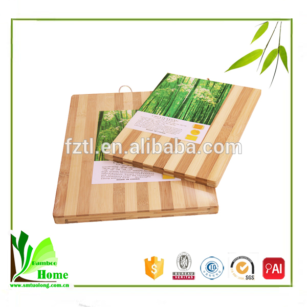 Perfectly Shaped Bamboo Material And Chopping Blocks Type Vegetable Cutting Board