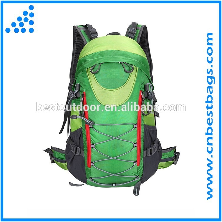 Waterproof Polyester Custom Hiking Backpack Bags For Hiking Traveling
