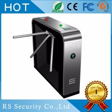 Circular fingerprint access tripod turnstile, Half Height Industrial Turnstile