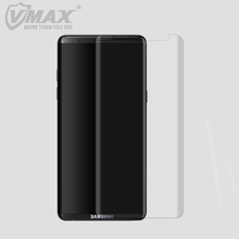 case friendly vmax 3D Curved soft flexible tpu note 8 Full Cover screen protector