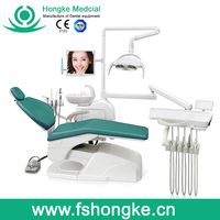 easy operation comfortable Dental Chairs debtal equipments
