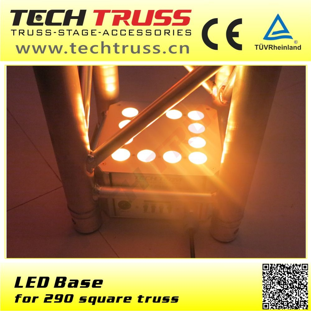 LED base light for 290mm square truss