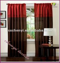 faux silk pencil pleated curtain good sale in 2017