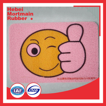thin plastic pvc bath mat for baby