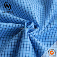 blue office suits fabric