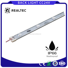 12v/24v Ip65 rigid led light strip for outdoor advertising light box constant current light