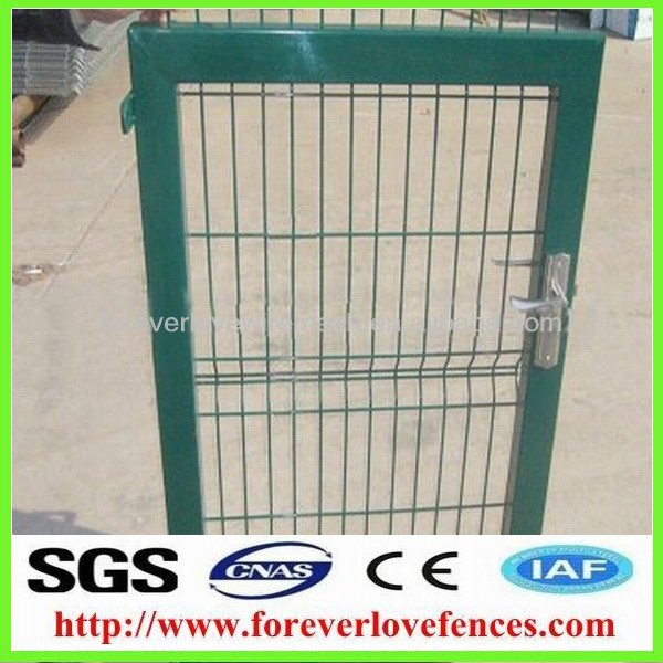 china PVC coated samll iron gate