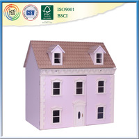 Assembling Set Baby DIY wooden ,a-frame house kit