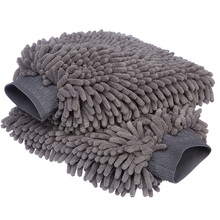 high quality microfiber waterproof car wash mitt/ Car washing mitt in microfiber material/Car Wash Mitt Chenille Gloves