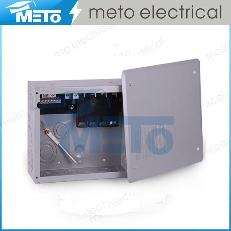 125 Amp electrical panel dead front panel board/beaded panel board/electrical panel types of panel board