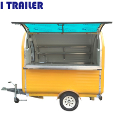 FV- 22 gas grill food van with top heating gas grill