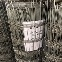 Manufacturer ISO9001 holland welded wire mesh garden fencing goat fence mesh