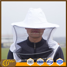 Popular Sale White Proof Protection Bee Hat With Veil