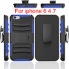 Wholesale for iPhone6 6s 4.7 inch Shockproof Armor Impact Kickstand Belt Clip Holster Combo Case For iPhone6 6s 4.7""