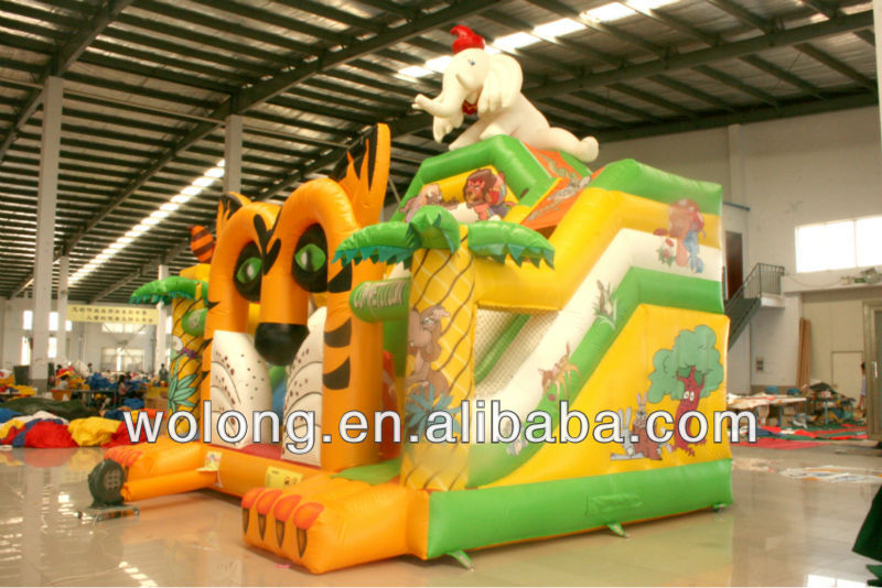 hot selling cheap inflatable slide toys for kids, inflatable bouncer for sale