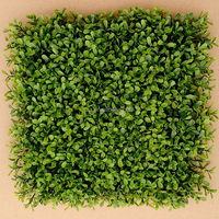 Highly Simulated Indoor Artificial Green Boxwood Mat Fence Mat for Sell