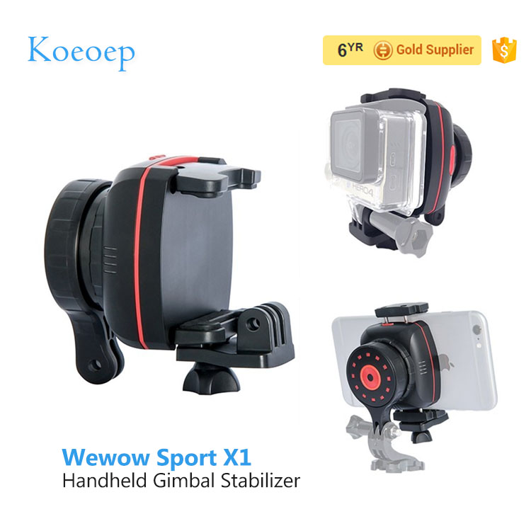 Koeoep Hight Quality Wewow sport x1 handheld camera gimbal stabilizer