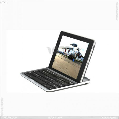 "Aluminum Wireless Bluetooth Keyboard Stand Protector Case For Google Nexus 7"" Inch Android Tablet P-GGNEXUS7BTHKB001"