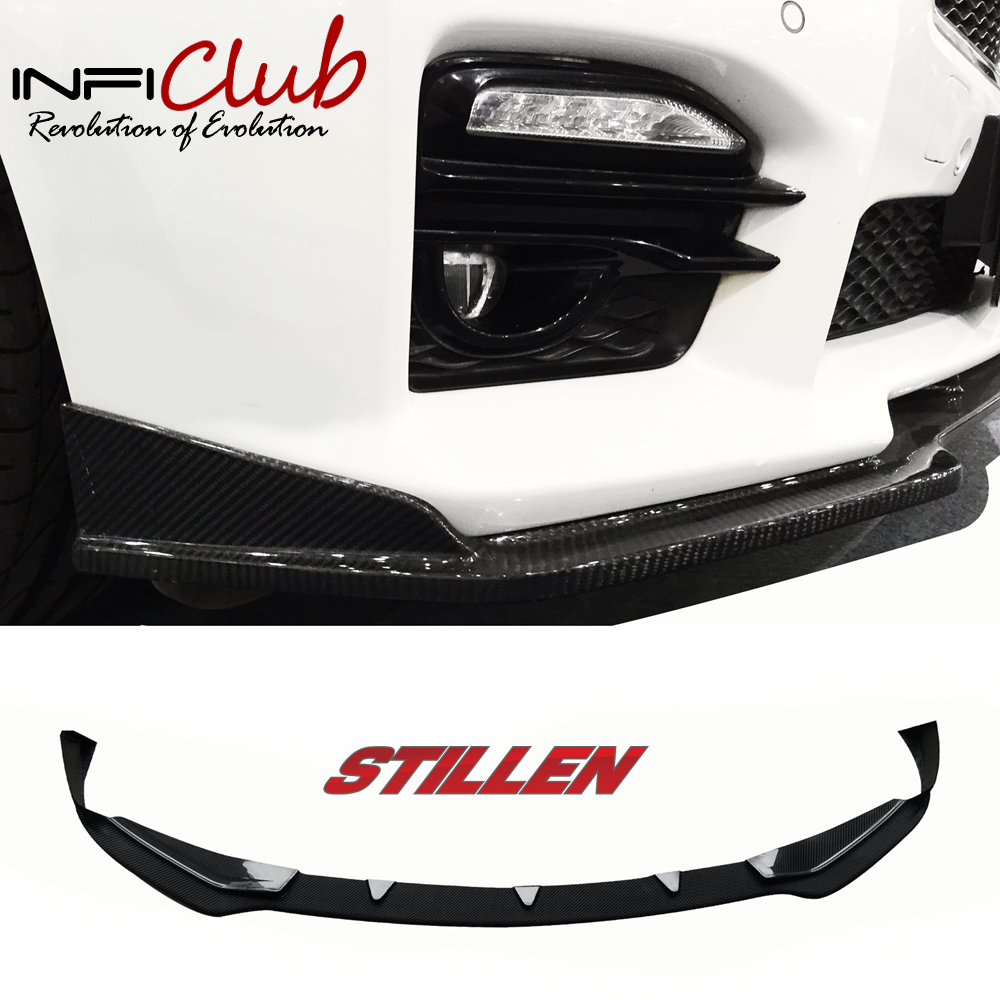 14-16 infiniti Q50 Q50 S body kit Bumper Front Lip Side Skirts Rear Diffuser