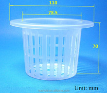 3 inches Plants Hydroponic Garden System PP Net Pots