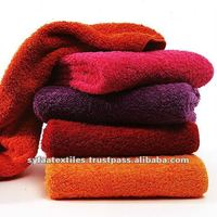 100% high grade cotton terry luxury towels