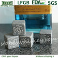 Engraved whiskey rock stone | black rock whiskey | whiskey stones custom