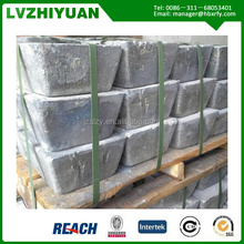 2015 Hot sale 99.9% Antimony Ingot from chinese manufacturer