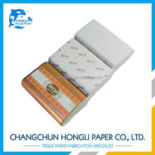 white multifold hand towel paper