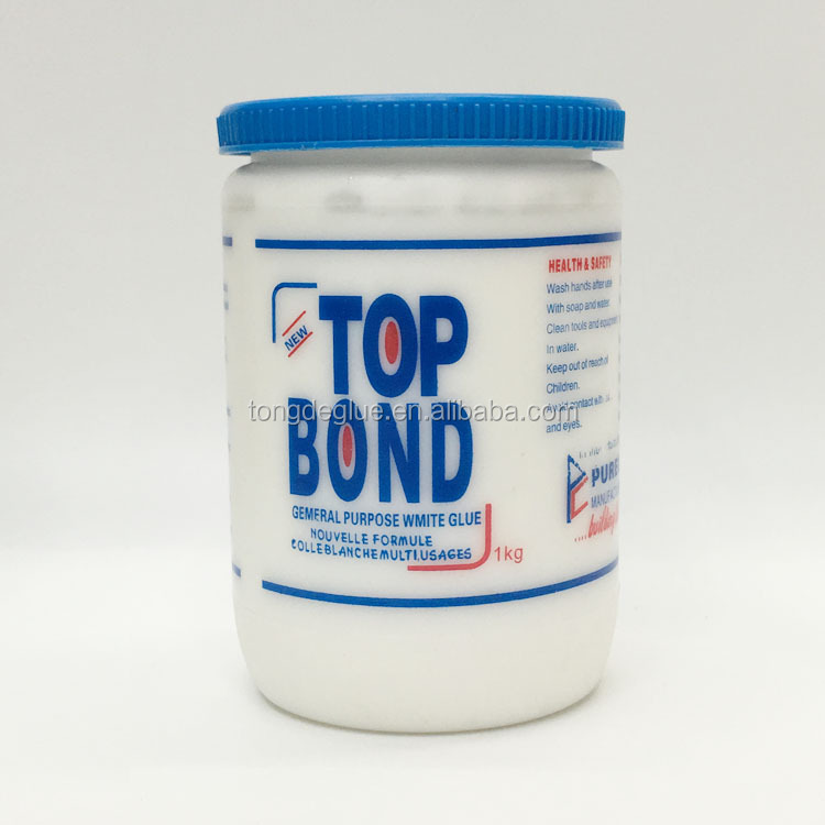 Top Quality White Bond All Size Bottle Package Adhesive PVA White Glue For Wood