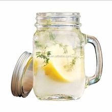 Very popular lead-free insulated glassware clear drinking cold beverage mason jar /terrarium glass with pump lid