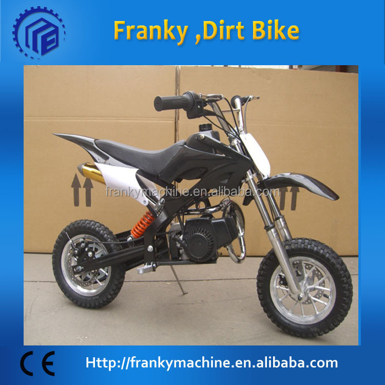 Competitive gas powered dirt bike for kids