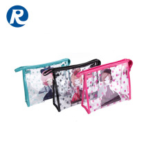 Ruiding High Quality Promotional Products Ladies Mini Clear Pvc Cosmetic Bag With Zipper