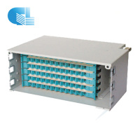 48 Core Fiber Optic Patch Panel