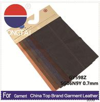 2015 wholesale artificial deerskin quality leathers Factory direct sale