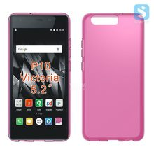 Matte pudding soft gel cover for huawei p10 victoria tpu case