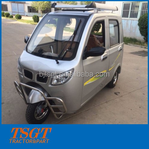 3 wheels electric tuk tuk for handicapped tricycle