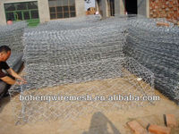 PVC coated gabion box welded gabion box stone cage