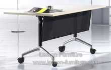 folding office table,office standing desk with wheel can move