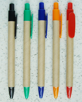 5.5 Inch Eco Colored Kraft Paper Pens