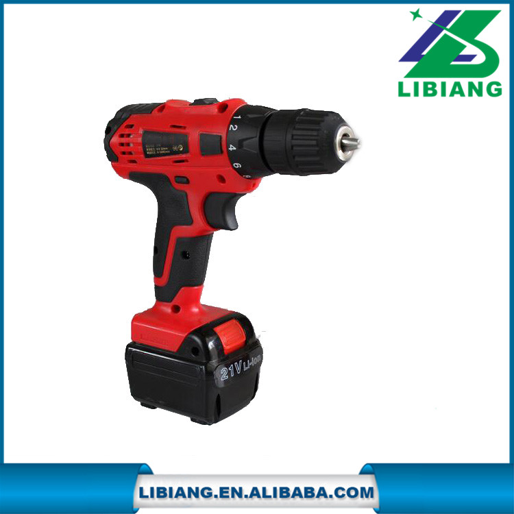 21v lithium battery electric cordless drills power tools