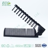 wholesale Foldable dual Combs/ black Collapsible hair straightening comb is comb