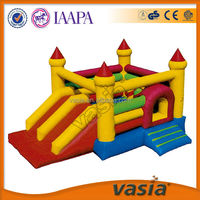Kids play outdoor thick pvc inflatable bouncer