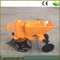 walking tractor potato planter with fertilizer