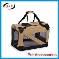 2016 new Deluxe Foldable Heavy Duty Soft Pet Crate