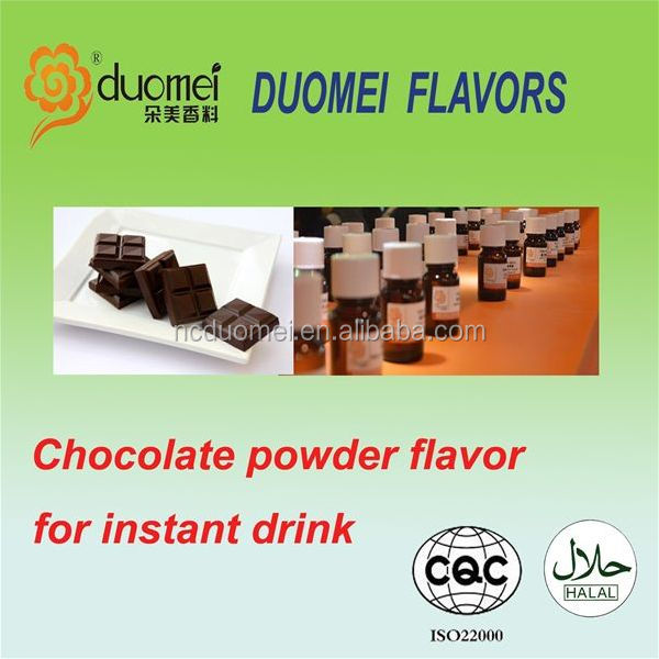 Chocolate powder food flavor for shakes powder