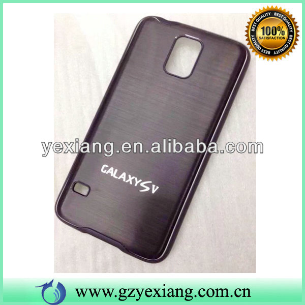 For Samsung Galaxy S5 I9600 Brushed Aluminum Metal Case