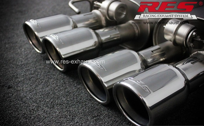 Best price for gr2 titanium exhaust system for Audi A8