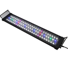 Promotional Adjustable Dimmable 60-120CM <strong>RGB</strong> 10000k led aquarium light bar T5 for marine tank