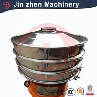 1 - 5 Layers/ 2 - 500 Mesh Sieve Screen Rotary Vibrating Screen For Stone Dust, Best Circular Vibrating Screen Price