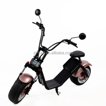 Fat Tyre 1000w Citycoco Big Wheel Electric Scooter With suspension For Adults